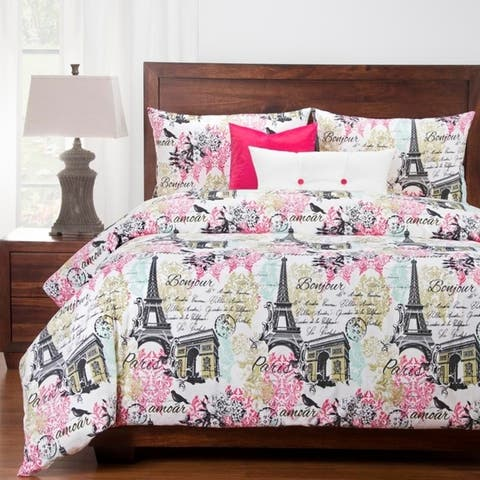 Siscovers Paris 6 Piece Luxury Cotton Duvet set