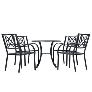 Paracelsus Outdoor Patio Aluminum 5-piece Dining Set