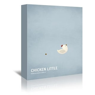 Americanflat 'Chicken Little' Gallery Wrapped Canvas