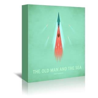 Americanflat 'The Old Man And The Sea' Gallery Wrapped Canvas