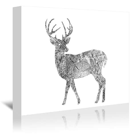 Americanflat 'Deer' Gallery Wrapped Canvas