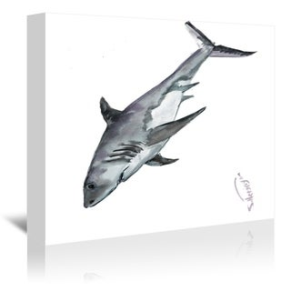 Americanflat 'Shark' Gallery Wrapped Canvas