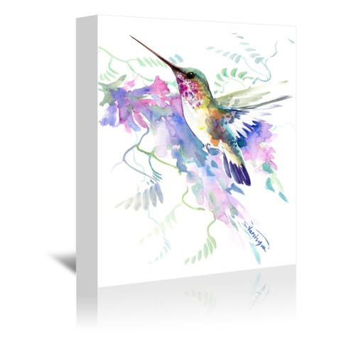 Americanflat 'Hummingbird' Gallery Wrapped Canvas