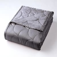 Nikki Chu Brushed Velvet Reversible Throw