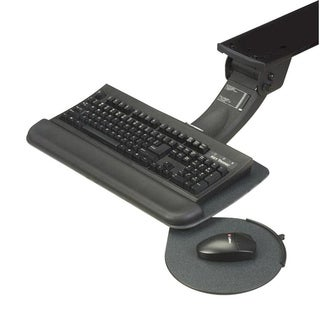 RightAngle Myriad Junior Keyboard & Swivel Mouse Tray, FastAction Sit/Stand