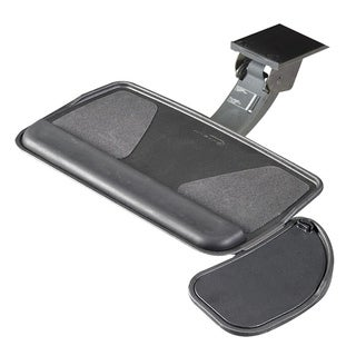 RightAngle Myriad Keyboard Tray & Swivel Mouse Platform, FastAction Sit/Stand Arm