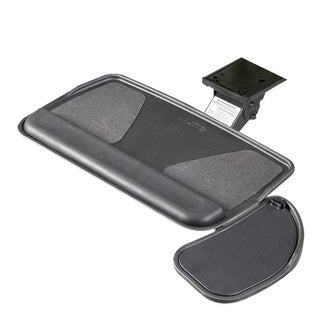 RightAngle Myriad Keyboard Tray & Swivel Mouse Platform, Value Arm