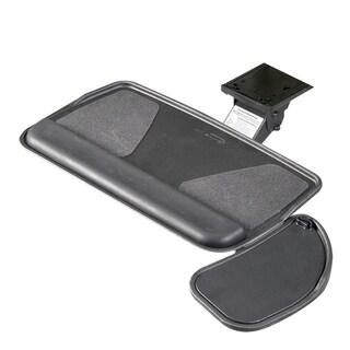 RightAngle Myriad Keyboard Tray & Swivel Mouse Platform, Value Swivel Arm