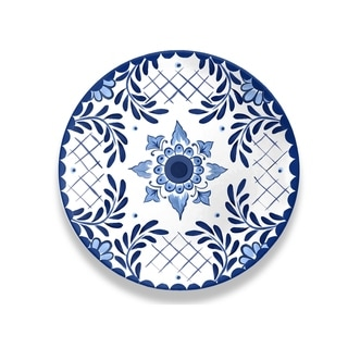 Cobalt Casita Dinner Plate