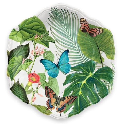 Amazon Floral Salad Plate Heavy Mold