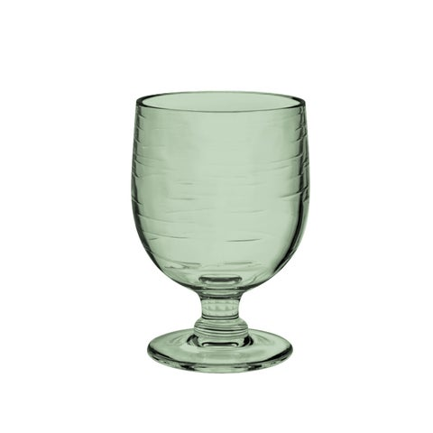 10.5 Oz Cordoba Stacking Goblet Recycled Green