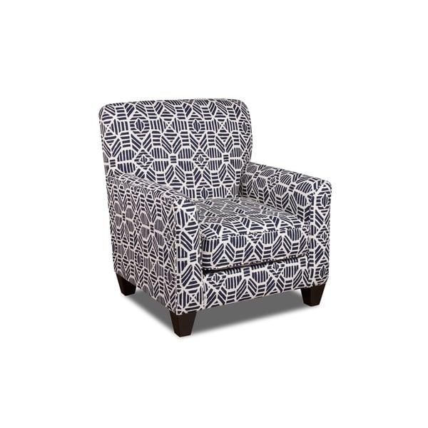 Shop Bexley Geometric Print Arm Chair Free Shipping