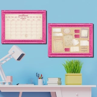 R2H Methods 'Prettiest in PInk' Dry Erase Planner & Calendar Set on ArtPlexi (3 options available)