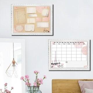 R2H Methods 'Bonjour Paris' Dry Erase Planner & Calendar Set on ArtPlexi