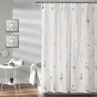Lush Decor Flamingo Shower Curtain