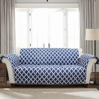 Lush Decor Wellow Ikat Sofa Furniture Protector