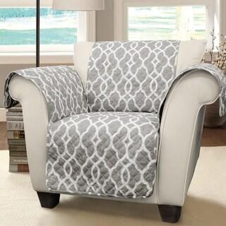 Lush Decor Connor Geo Arm Chair Furniture Protector