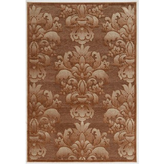 """Structure Medallions in Brown Area Rug ( 8' X 10'3"""" )"""