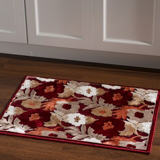 "Structure Floral in Brown Area Rug ( 8' X 10'3"" )"