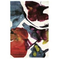 "Millenium Water Color in Ivory Multi Area Rug ( 5'x7'6"" )"