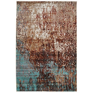 Impact Forest in Beige Multi Area Rug