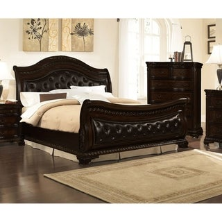 Link to Best Master Furniture Upholstered Sleigh Bed Similar Items in Bedroom Furniture