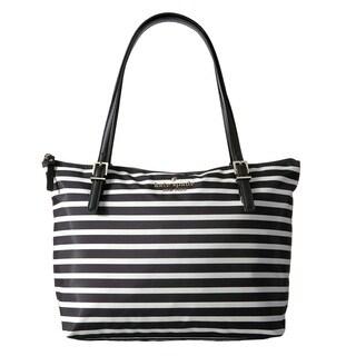 Kate Spade New York Watson Lane Maya Black/Cream Tote Bag