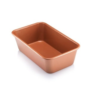 "Copper Nonstick Bakeware Baking Bread Loaf Pan 9.5"" X 5.5"""