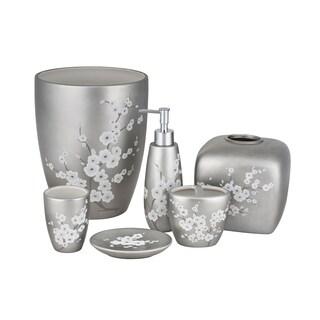 Five Queens Court Mateo Cherry Blossom Stoneware Bathroom Accessories