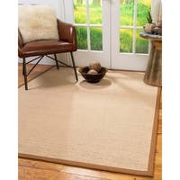 Natural Area Rugs Sonoma Natural/Sienna Wool Handmade Area Rug - 8' x 10'