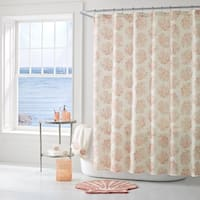 Five Queens Court Caribbean Reef Print Shower Curtain