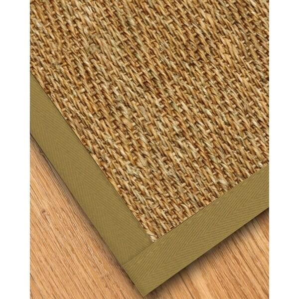 Naturalarearugs Everest Mt Gr Carpet Runner Hand Woven Sand Border 2 X27