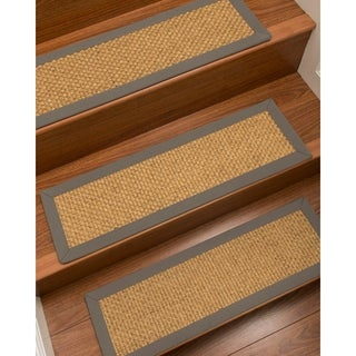 "NaturalAreaRugs Big-sur Carpet Stair Treads (Set of 13) - 9""x29"""