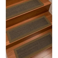 """NaturalAreaRugs Chateau Carpet Stair Treads  (Set of 13) - 9""""x29"""""""
