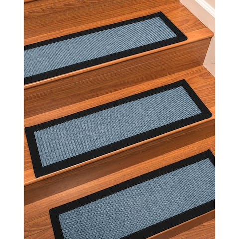 "NaturalAreaRugs Cortona Carpet Stair Treads (Set of 13) - 13PC (9"" x 29"")"