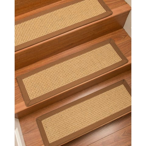"NaturalAreaRugs Dubai Carpet Stair Treads (Set of 13) - 13PC (9"" x 29"")"