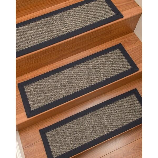 NaturalAreaRugs Shadows Carpet Stair Treads Set Of 13 13PC 9 X 29