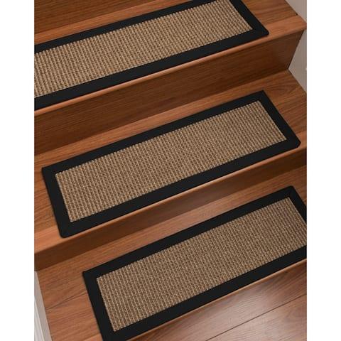 "NaturalAreaRugs Sandstone Carpet Stair Treads (Set of 13) - 13PC (9"" x 29"")"
