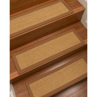 NaturalAreaRugs Rustic Carpet Stair Treads Set Of 13