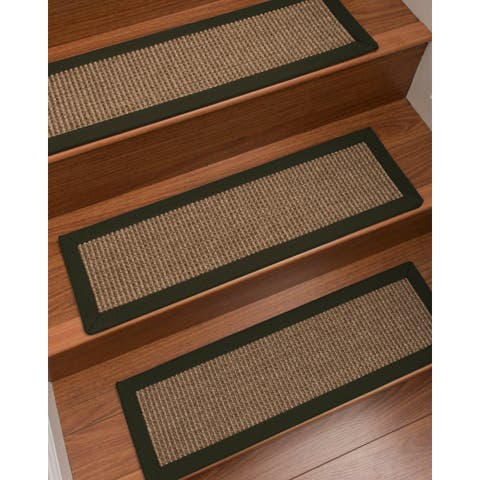 "NaturalAreaRugs Sandstone Carpet Stair Treads (Set of 13) - 13PC (9"" x 29"")"