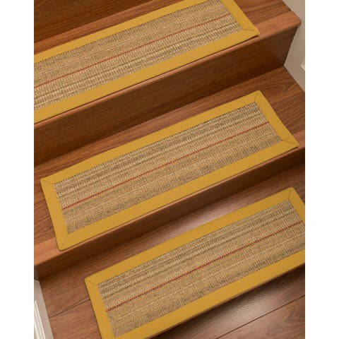 "Natural Area Rugs Resort Carpet Stair Treads (Set of 13) - 13PC (9"" x 29"")"