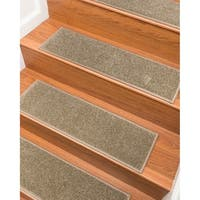 "NaturalAreaRugs Hand Crafted Malvern Carpet Stair Treads ( Set of 13) - 9""x 29"""