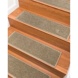 """NaturalAreaRugs Hand Crafted Malvern Carpet Stair Treads ( Set of 13) - 9""""x 29"""""""