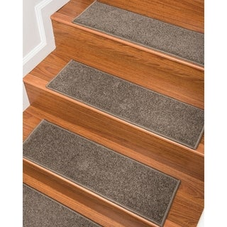 "NaturalAreaRugs Hand Crafted Kenwood Carpet Stair Treads (9"" x 29"" Set of 13)"
