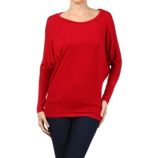Women's Solid Babydoll Long Sleeve Top (More options available)