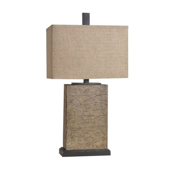 Mason Crackled Gold 30.75-inch Table Lamp