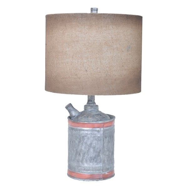 Filler Up Antique Can 23-inch Table Lamp