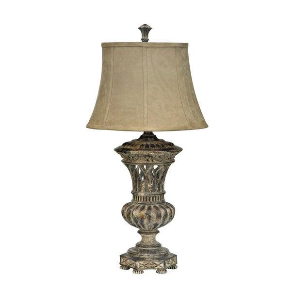 Castilian Bronze 34.5-inch Table Lamp
