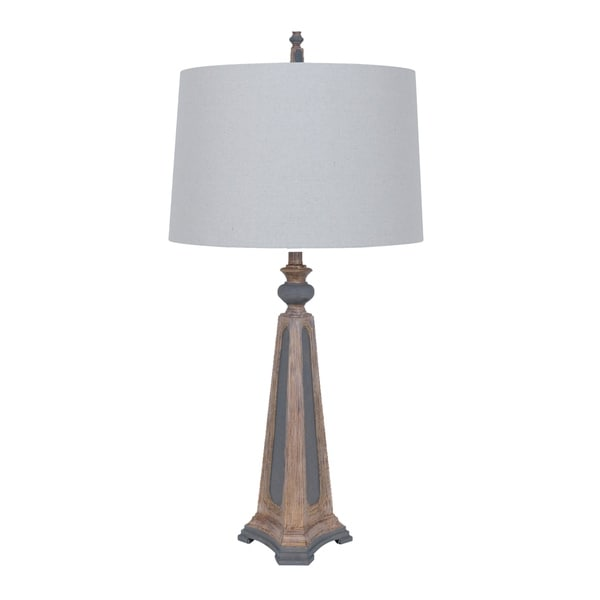 Augustine Sand Grey 36-inch Table Lamp