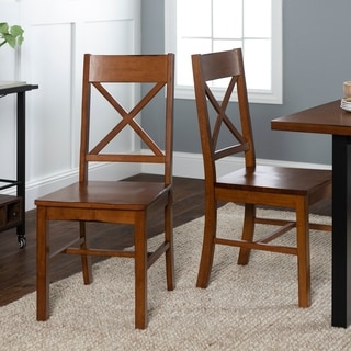 The Gray Barn Sunny Banks Solid Wood Dining Chairs (Set of 2)